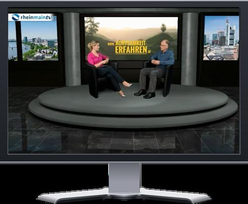 TV Interiew mit Frank Hofmann zum Thema Achtsamkeit